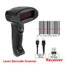 NETUM 1D Wireless Auto Sense Laser Barcode Scanner Reader LED Light Buzzer F2