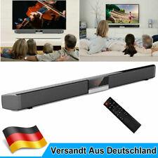 Soundbar TV Stereo Bluetooth 5.0 Lautsprecher Subwoofer mit Fernbedienung & Uhr