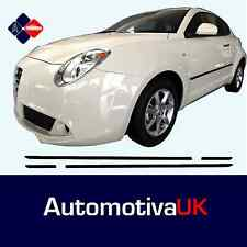 Alfa Romeo MiTo Rubbing Strips | Door Protectors | Side Protection Body Kit