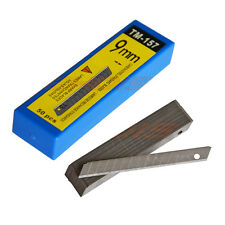 50 x Carbon Replacement Blade 58° 9mm Razor Blades for Window Glass Tint Tool