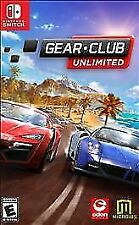 Gear.Club Unlimited (Nintendo Switch, 2017) Factory Sealed