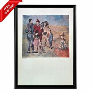 Pablo Picasso - The Saltimbanques Original Hand Signed Print with COA