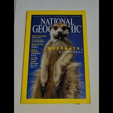 National Geographic September 2002 Meerkats Stand Tall