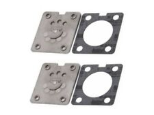 (2) Porter Cable CF2600 Parts Air Compressor Valve Plate and Lower Gasket