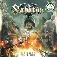 SABATON HEROES ON TOUR DOPPIO VINILE LP NUOVO SIGILLATO !!