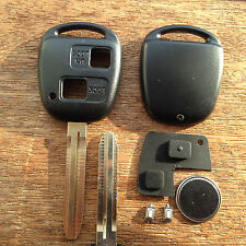 Toyota  Corolla Celica RAV4 Yaris Prius 2 button remote key fob Full repair Kit