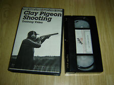 VIDOX CLAY PIGEON SHOOTING TRAINING RARE VHS VIDEO TAPE