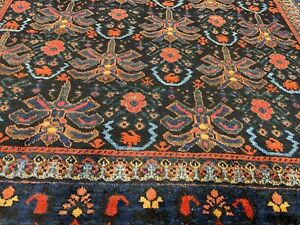 Auth: 19th C  Antique Nomadic Afshaar Collectors Piece  RARE Mystical ART 5x7 NR