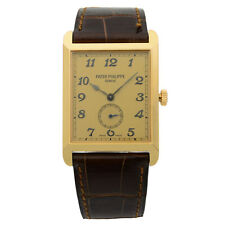 Patek Philippe Gondolo 18K Rose Gold Champagne Dial Hand Wind Mens Watch 5109R