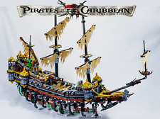 Pirates of the Caribbean SILENT MARY 71042 Ghost Ship Blocks Technic Kid Toy Set