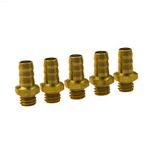 5Pcs Brass Universal M6 Threaded Water Nipples for Rc Model Boat