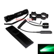 UltraFire CREE Green light LED 1Mode Tactical 501B Flashlight + Mount Holster