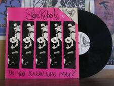 STEVE ROBERTS DO YOU KNOW - PUNK EXPLOITED LP EXPLP2002