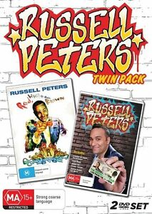Russell Peters Twin Pack (2 Discs)  - DVD - NEW Region 4