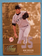 2005 Leaf Century Material Fabric Number #35 Mike Mussina Jersey /35