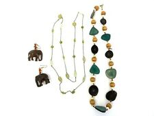 Lot Modern Elephants Imitation Stone Glass Bead Ladies Necklaces Beads Jewelry