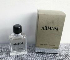 GIORGIO ARMANI Eau Pour Homme Eau De Toilette mini for men, 7ml Brand New in Box