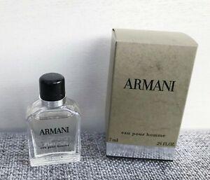 GIORGIO ARMANI Eau Pour Homme Eau De Toilette mini for men, 7ml Brand New in Box