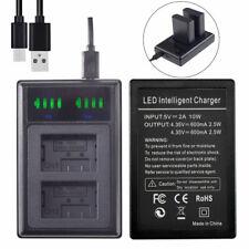 Dual Battery charger for Panasonic DMW-BMB9E BMB9 Lumix DMC-FZ150K DMC-FZ48 FZ70