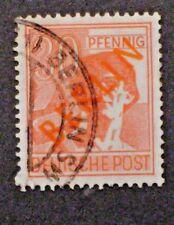 1948 German Berlin Black (Ovpt) - Used w/Berlin Sw Post Office Cancel