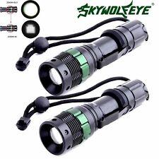 2PCS Ultrafire 10000LM CREE XM-L T6 LED Flashlight Super Bright Torch