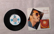 "VINYLE 45T 7"" SP MUSIQUE / STEVIE WONDER ""SIR DUKE"" 1977 MOTOWN - 2C 006 98912"