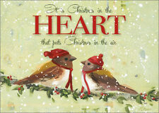 Christmas in the Heart Ninalee Irani Box of 18 Christmas Cards by LPG Greetings