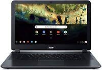 NEW Acer 15.6 Chromebook Intel Quad Core 4GB Ram 16GB SSD Webcam + Mic + WiFI