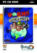 Worms World party PC Cd Rom Addictive Action Packed Computer Laptop Game