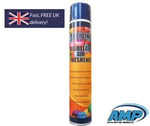 Industrial Air Freshner Spray Aerosol 750ml Odour Smell Damp Smoke Pets