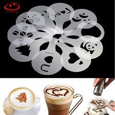16 Design Coffee Milk Cake Cupcake Stencil Template Mold Coffee Cake Decoration
