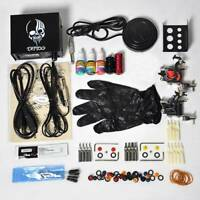VI 2pcs Guns Machine Supply Set Equipment Complete Tattoo Starter Kit