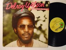 DELROY WILSON Straight From The Heart NICOLE Synth Boogie Funk LP HEAR G107