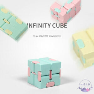 Infinit Cube Kids Desk Toy Fiddle Fidget Cube Adults Stress Relief ADHD Toy Gift