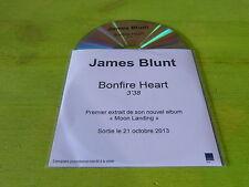 James blunt-bonfire heart!!! rare french promo cd