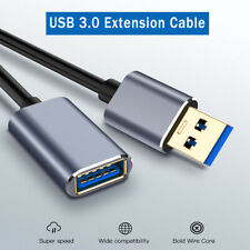 USB 3.0 Extension Cable Cord Standard Type A Male to Female Data Extender Cable