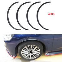 4pcs Universal Car Fender Flare Extension Wheel Eyebrow Arch Trim Protector Lip