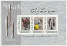 Nederland 2751-B-6 Postset Beleef de Seizoenen, Winter vel en kaarten