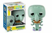 NEW!! Funko POP SQUIDWARD Vinyl Action Figures brinquedos Collection Spongebob