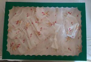 Corredino Neonata Cotone Vintage Creazioni Per Bambini Raro
