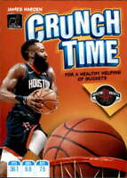 2019-20 Donruss Crunch Time #6 James Harden Houston Rockets