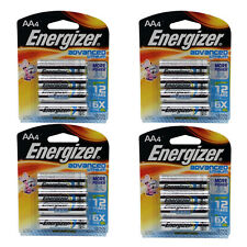 4 Packs Energizer Advanced Lithium AA Batteries 4-Pack x 4 EA91BP-4  Exp2026