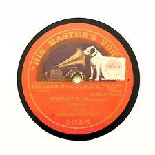 """GIOVANNI MARTINELLI """"Serenata (Mascagni)"""" (EE+) 12"""" Single Sided HMV [78 RPM]"""