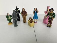 Wizard of Oz 1988 MTC Action Figure Lot - Dorothy, Toto, Witch, Scarecrow