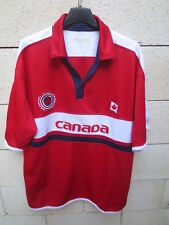 Maillot CANADA Teepee shirt jersey soccer collection football vintage XL TG