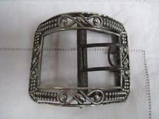 Pre-1800 Antique Solid Silver Buckles