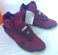 Converse Aero Jam Invader 146707C Purple LJ Basketball Shoes Men's 8.5 NBA new