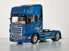 Italeri 3873 1/24 Scale Truck Model Kit Scania R620 Blue Shark