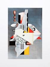 Will Mentor, Cubist Composition, Etching with Aquatint, signed and numbered in p