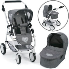 Bayer Chic 2000 Puppenwagen Emotion 2in1 (Jeans Grey)